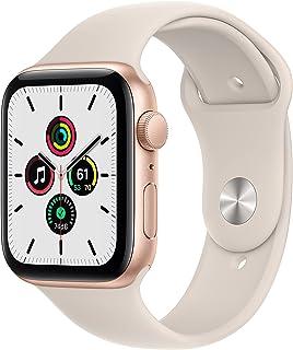 Apple Watch SE (GPS, 44mm) - Gold Aluminium Case with Starlight Sport Band - Regular