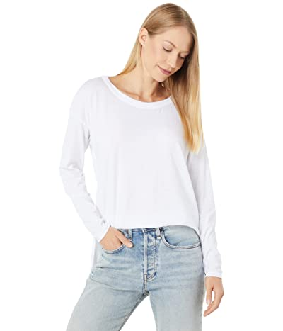 Chaser Recycled Vintage Jersey Long Sleeve High-Low Tee