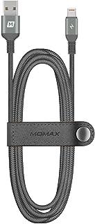 Momax: Elite Lighting Cable (Triple-Braided) 1.2m, Black