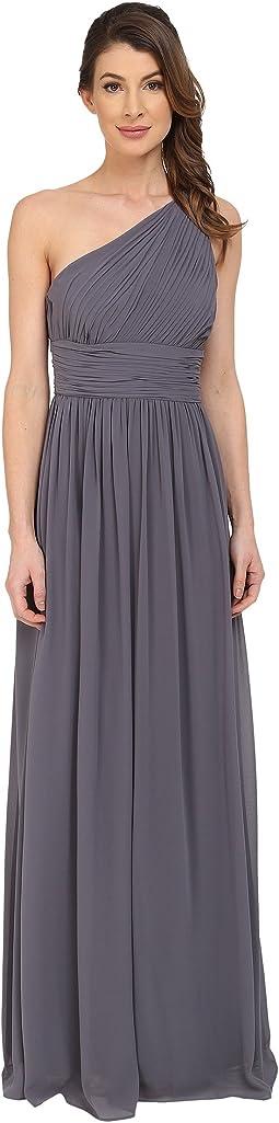 Rachel One Shoulder Strapless Gown