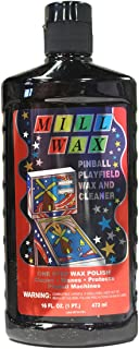 Mill Wax Pinball Machine Playfield Cleaner and Polish