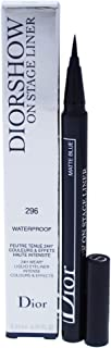 Christian Dior Diorshow On Stage Liquid Eyeliner 296 Matte Blue for Women, 0.01 Ounce