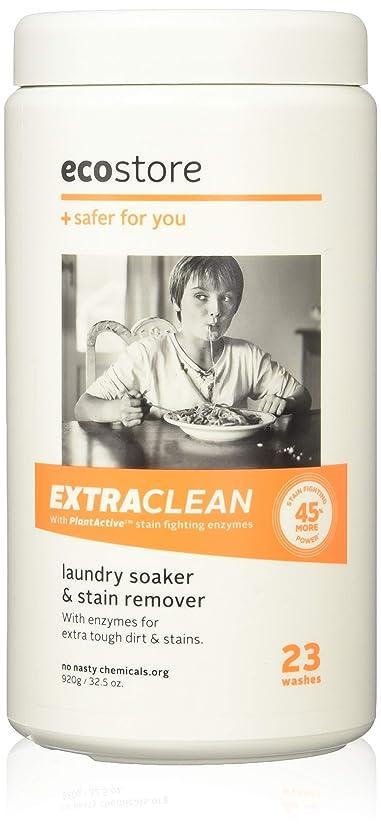準拠数誘発するecostore エコストア ソーク&ウォッシュパウダー 【エクストラクリーン 】 920g 汚れ落とし 洗濯 洗剤