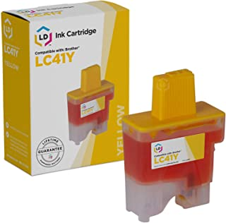 LD Compatible Ink Cartridge Replacement for Brother LC41Y (Yellow)