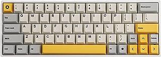 TsungUP Tangentbord, 131 tangenter PBT Heavy Industry tangenter färg-sublimering tangentbord körsbär profil för de flesta ...