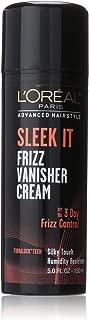 L'Oréal Paris Advanced Hairstyle SLEEK IT Frizz Vanisher Cream, 5 fl. oz.