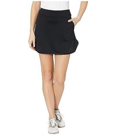 Nike Golf Dry Knit 17 Skirt (Black/Black/Black) Women
