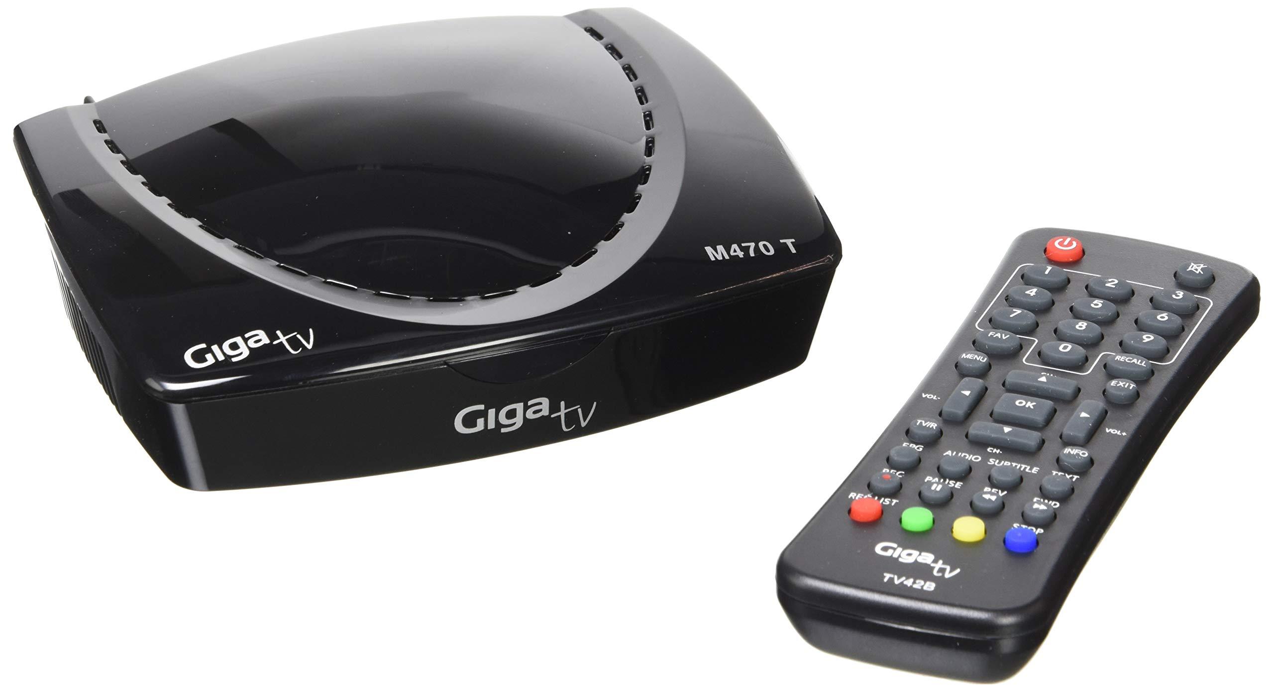 Sintonizador TDT giga tv m470t.: Amazon.es: Electrónica