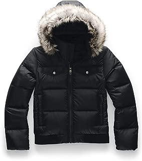 black north face bomber jacket