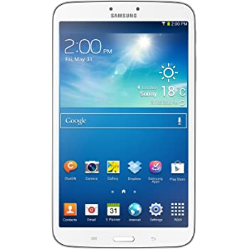 """Samsung Galaxy Tab 3 Tablette Tactile 8"""" 16 Go Android Wi-Fi Blanc"""