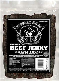 Buffalo Bills 16oz Premium Hickory Beef Jerky Pieces (hickory smoked jerky in random size pieces)