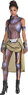 Black Panther Shuri Costume for Women, Includes a Catsuit, Armbands, Gloves, and a Sash Belt