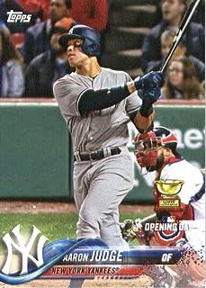 466674182 2018 Topps Opening Day  71 Aaron Judge New York Yankees Baseball Card