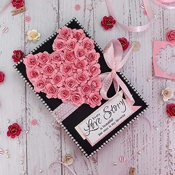 Crack of Dawn Crafts Romantic Love Scrapbook - Pink Passion