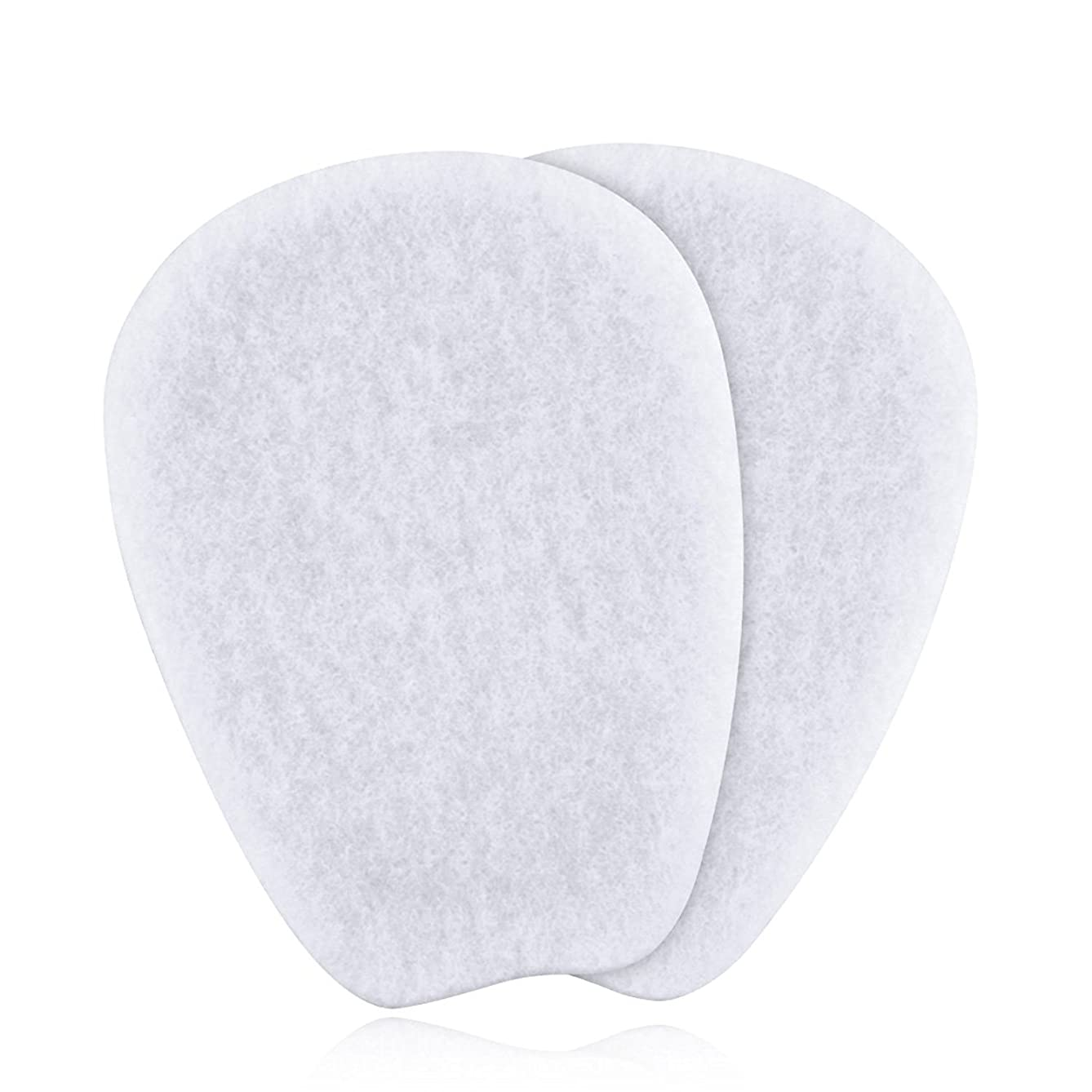 Liams Shoppe 7 Pairs of Felt Tongue Pads Cushion for Shoes, Size Extra Large