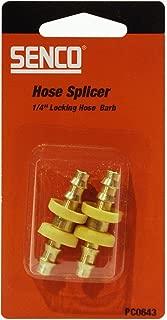 Senco PC0643 1/4-Inch by 1/4-Inch LHB Push-Lok Splicer Set (2 pack)