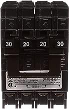 Quadplex Two Double Pole 30 Amp Outside Two Double Pole 20 Amp Inside Circuit Breaker