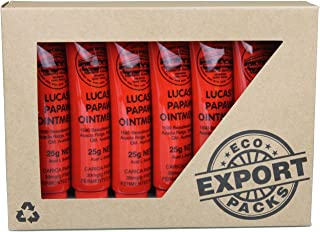 Lucas Papaw Ointment 25gm (Eco Boxed) (Pack of 6)