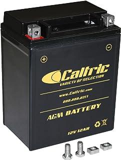 Caltric Agm Battery for Honda Trx200 Trx-200 Fourtrax 200 1984