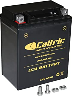 CALTRIC AGM BATTERY compatible with HONDA VF750C VF-750C V45 Magna 1982 1983