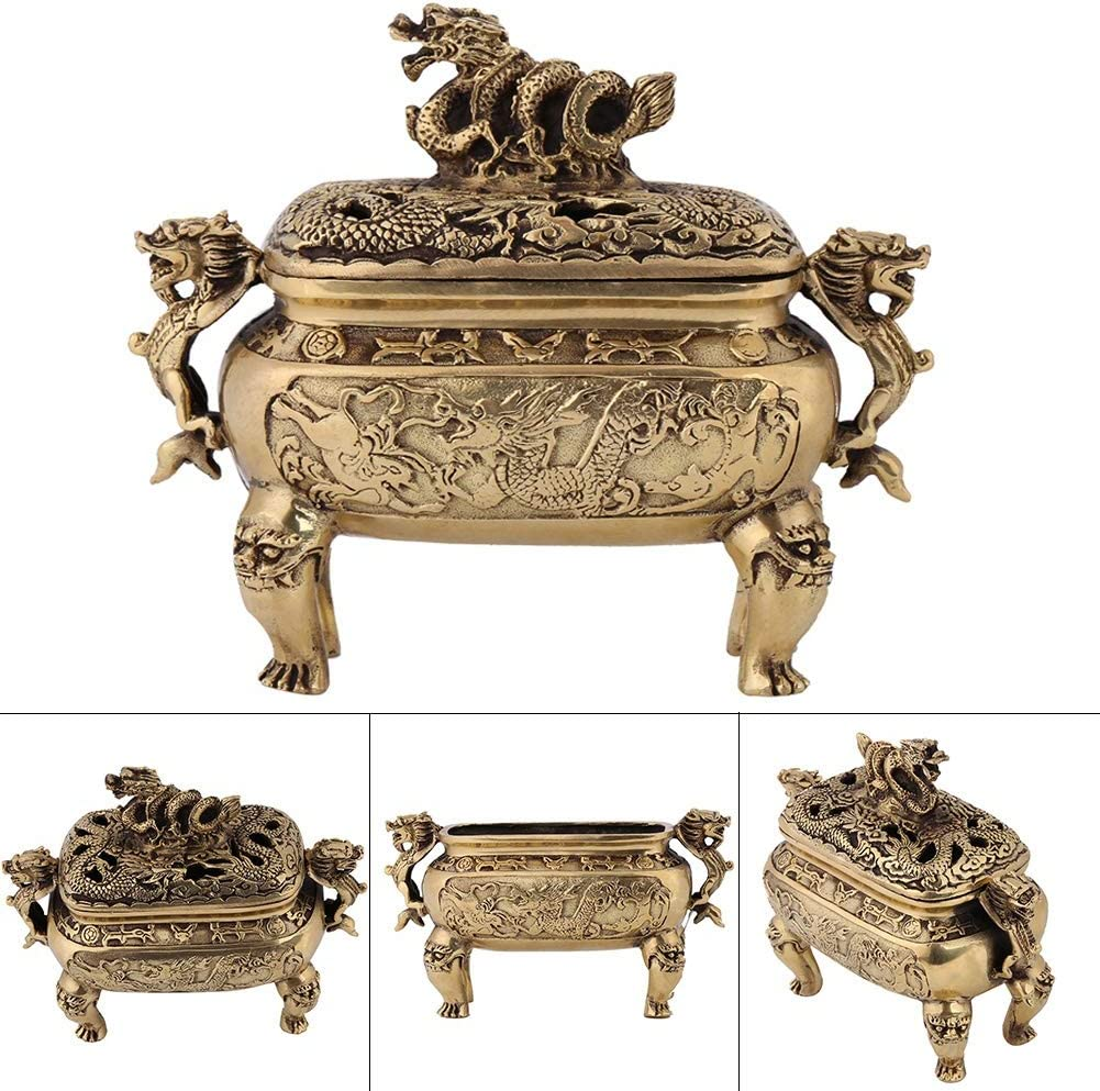 Evonecy Dragon Incense Purchase Holder Durabl A surprise price is realized Burner Decorative
