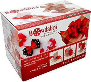 Darice 00407001410 Bowdabra Bow Maker and Craft Tool, Gray