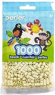 Perler Beads (1000 Pack), Creme
