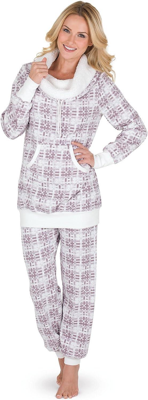 PajamaGram Cozy Womens Pajama Sets  Winter Pajamas for Women