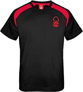 Nottingham Forest Football Club Official Gift Boys Poly Training Kit T-Shirt