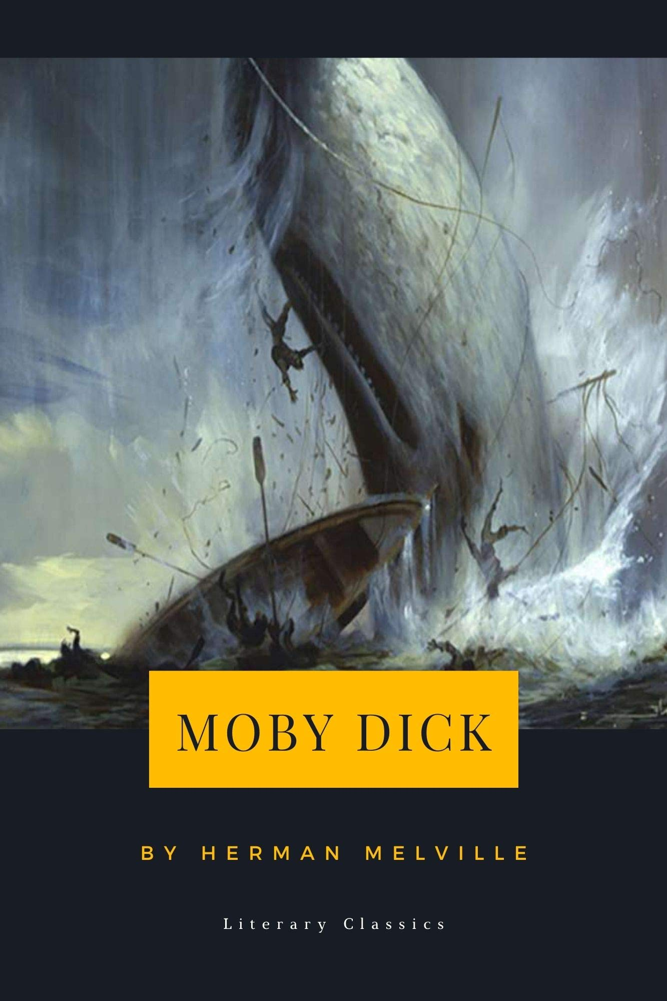 Moby Dick (Herman Melville) (Literary Thoughts Edition)