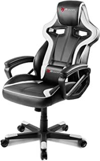Arozzi Milano Enhanced Gaming Chair, White