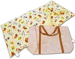 東京西川 お昼寝布団セット キッズサイズ 洗える 綿100%カバー バッグ付き 7点 アンパンマン ネームタグ付き おひるね 保育園 幼稚園 お昼寝布団 こども園 キャラクター