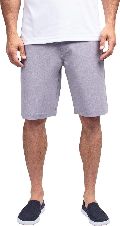 TravisMathew ブランド買うならブランドオフ Men's Beck Golf Cadet Shorts Heather 保障