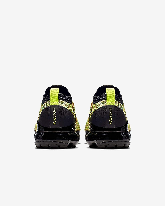 Nike W Air Vapormax Flyknit 3, Scarpe da Atletica Leggera Donna Multicolore Black Black Volt Blue Lagoon 4
