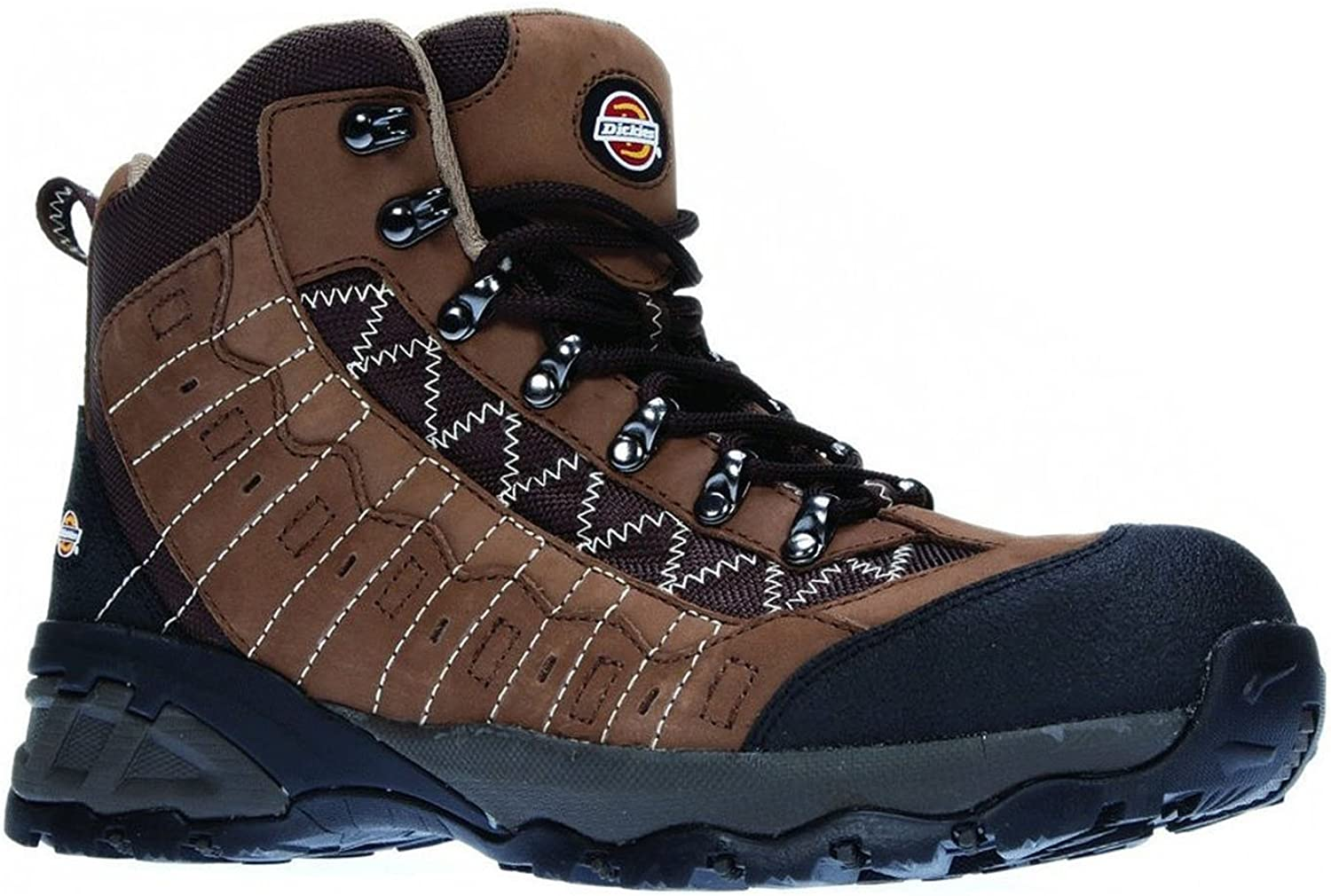Dickies Gironde Safety Hiker Boot, Non Metallic Sole and Toe, Lightweight