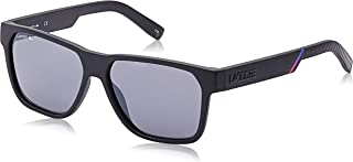 Lacoste Rectangle Sunglasses for Men - Purple Lens, L867S 002