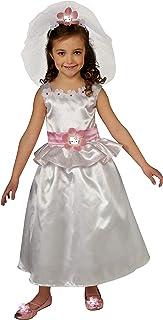 زي العروس هيلو كيتي من روبيز، مقاس الأطفال الصغار