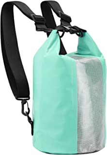MIER Waterproof Dry Bag Roll Top Lightweight Dry Gear Backpack for Kayaking, Boating, Rafting, Hiking, Camping, Swimming, Outdoor