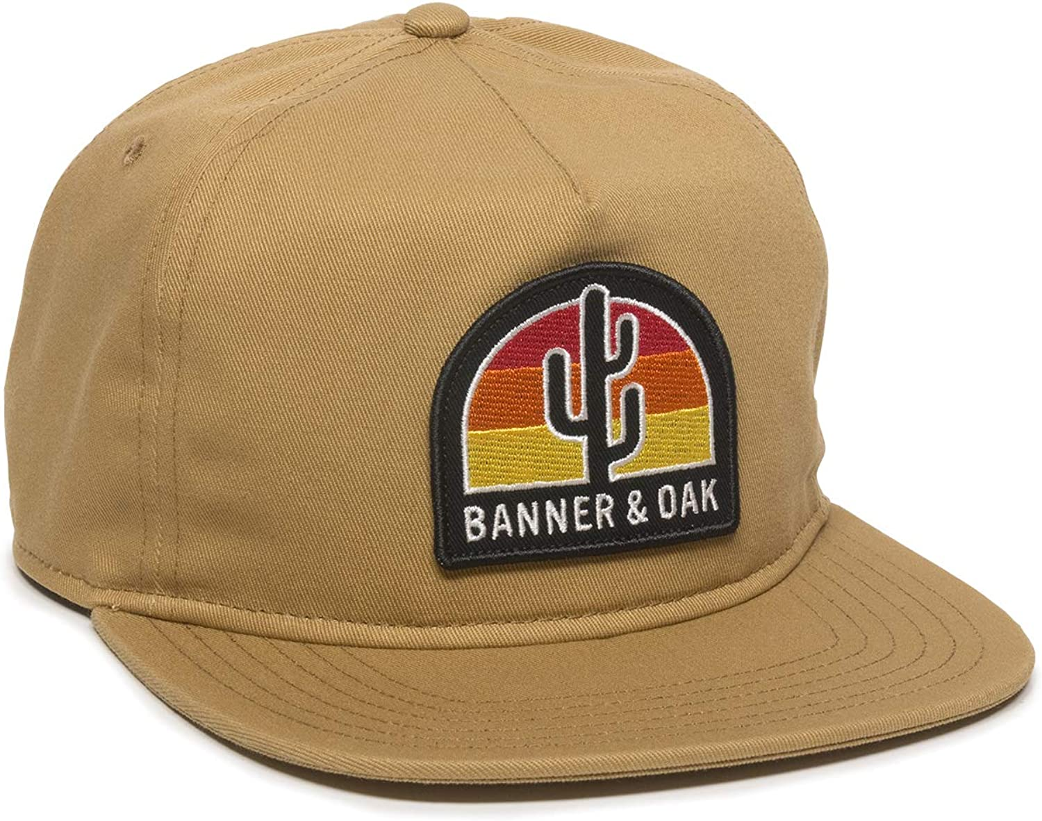 Switchback Embroidered Scout Patch Hat - Adjustable Baseball Cap w/Plastic Snapback Closure