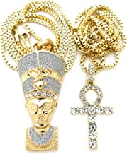 Best queen nefertiti gold chain Reviews