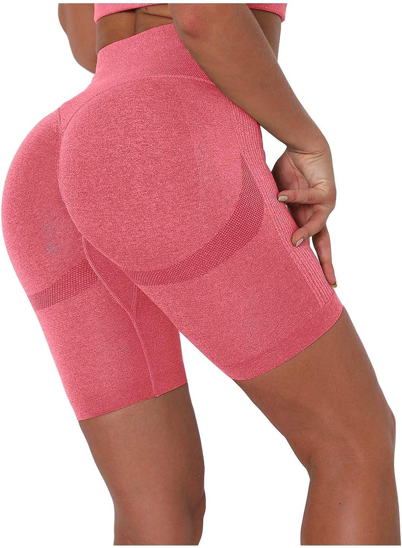 Smooto Seamless Butt Lifting Shorts for Women High Waist Workout Gym Shorts