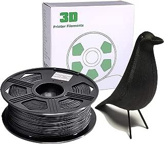 YOYI 3D Printer Filament,Carbon Fiber PLA Filament 1.75mm 0.8kg Spool, Dimensional Accuracy +/- 0.03 mm, 100% Europe Raw Material