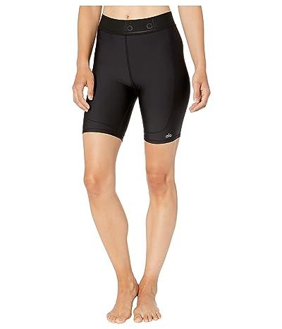 ALO Rider Shorts (Black) Women