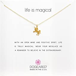 Dogeared Life is Magial Unicorn Reminder Necklace