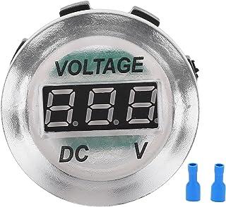 Auto Voltmeter LED Digitale Display Spanningsmeter Waterdicht Universeel voor Motorfietsen Schepen Yach