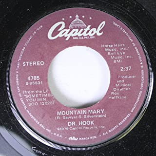 DR.HOOK 45 RPM MOUNTAIN MARY / BETTER LOVE NEXT TIME