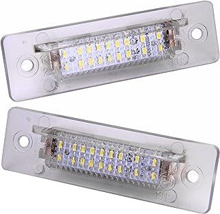 CITALL 2pcs LED /Éclairage pour Plaque dimmatriculation lumineuse pour Porsche Boxster Cayman Carrera Cayenne 987//997//958