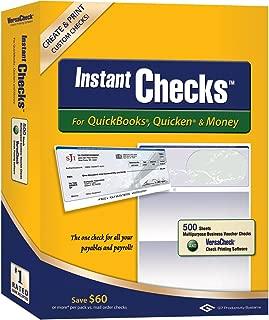 Instant Checks for QuickBooks, Quicken & Money: Form #1000 Business Voucher - Green Prestige 500pk