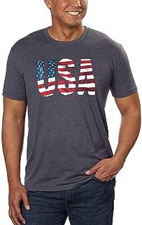 USA Signature Men's Graphic Tee T Shirt