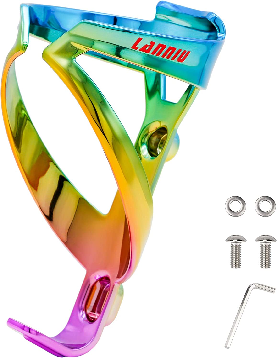 San Antonio Mall LANNIU Bike Complete Free Shipping Water Bottle for Holder Lightweight Colorful